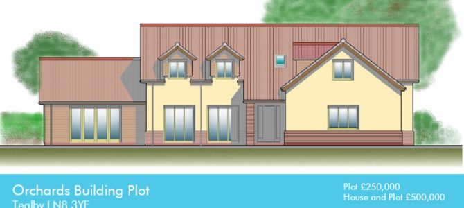 Self-Build Plot and Build for Sale in Tealby, Lincolnshire