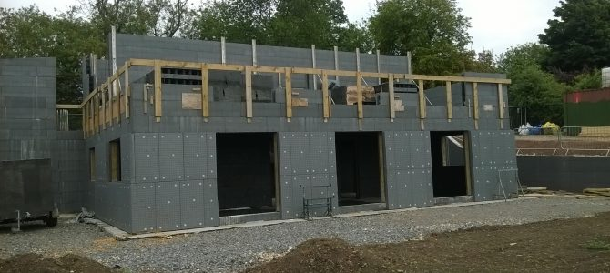 ICF Shell nears Completion