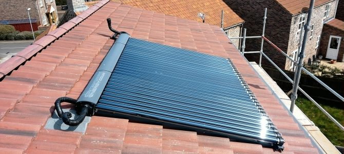 Renewable Technology: Solar Heating Hot Water